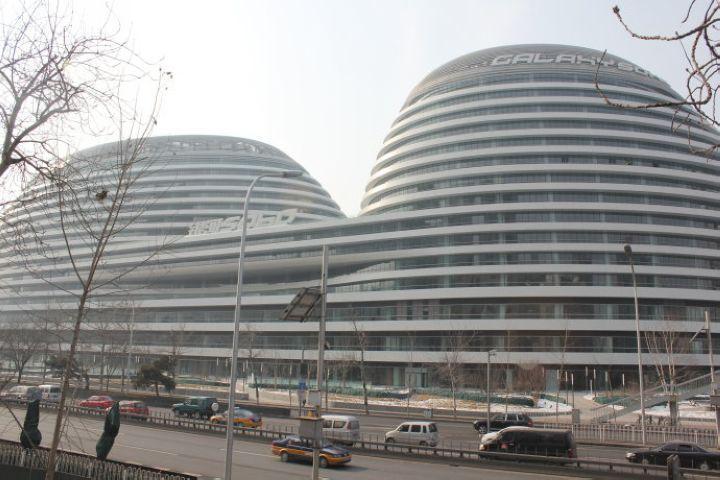 银河soho——北京城市中心地标建筑