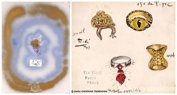 著名西班牙萨尔瓦多达利以超现实主义作品而闻名,他的作品将怪异梦境般的形象与卓越的绘图技术和受文艺复兴大师影响的绘画技巧令人惊奇地混合在一起,具有非凡想象力。不过你可能没想到的是,在画作之作,达利也以独特的方式来表达在珠宝设计上奇异丰富的想象。 他运用黄金,铂金,宝石(钻石,红宝石,绿宝石,蓝宝石,海蓝宝石,托帕石等),珍珠,珊瑚以及其他高贵的材料,打造出心,嘴唇,眼睛,植物、动物,宗教神话符号,并赋予其以拟人化的独特形式。 萨尔瓦多达利亲自挑选每种材料,不仅是挑选颜色或价值,更深入考虑每种宝石或贵金属的