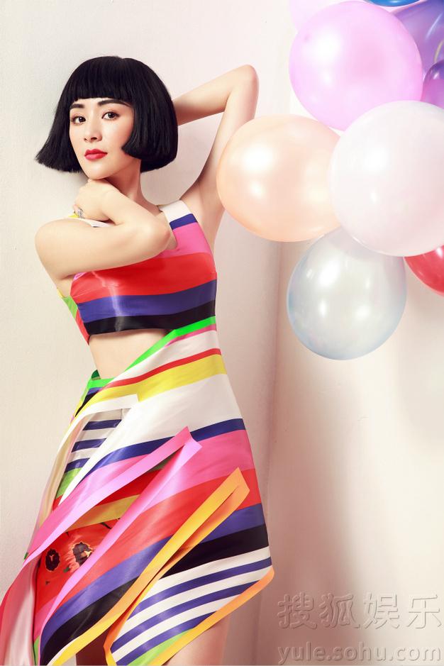 刘庭羽夏日梦幻写真曝光 率性灵动不失甜美