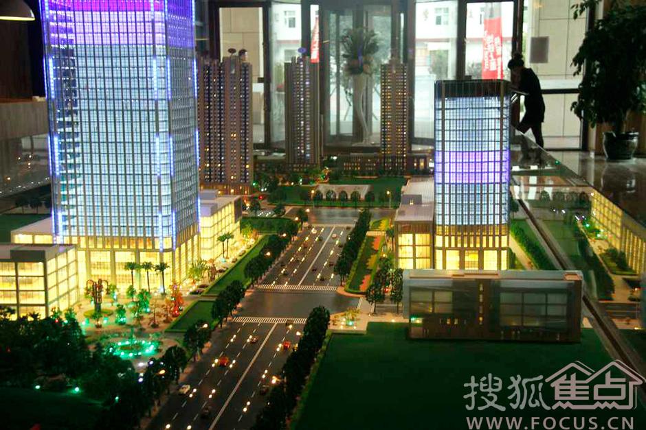 凤城八路高端城市综合体 高清图秀