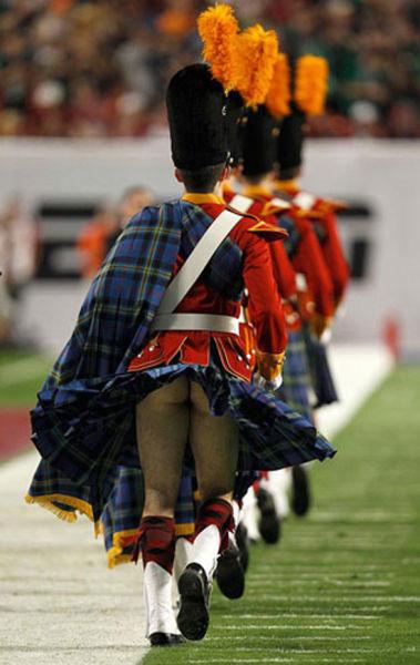 穿苏格兰短裙为何不穿内裤-男人图片库-大视野