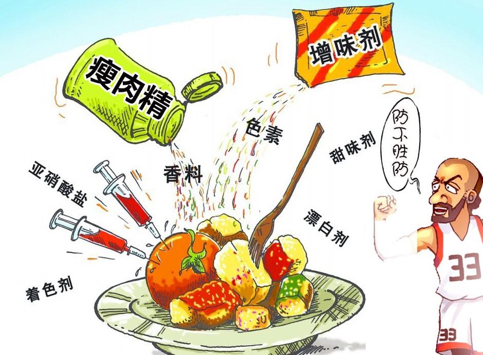 瘦肉精屡袭体坛 中国食品安全警钟长鸣58514