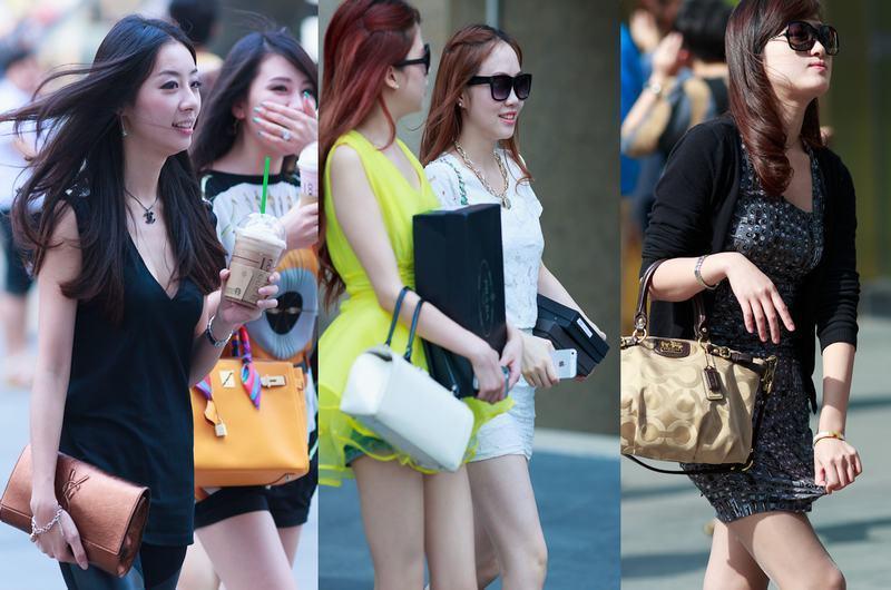 重庆美女性感街拍5475287 女人频道图片库