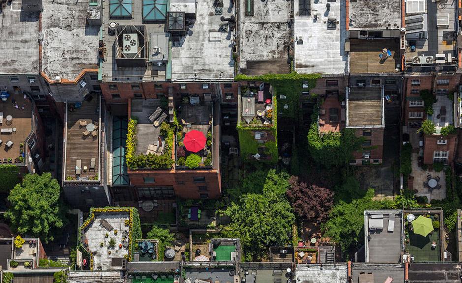 万万没想到纽约富人区游泳池都建在屋顶