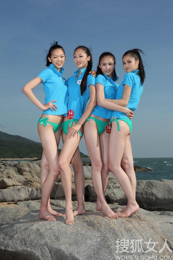 新丝路模特大赛外景泳装照 - zcyyglzx - zcyyglzx的博客