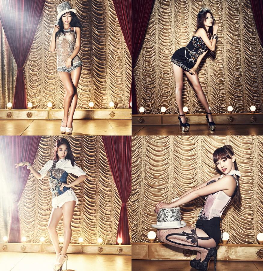 SISTAR携二辑回归歌坛 写真上演性感诱惑 娱