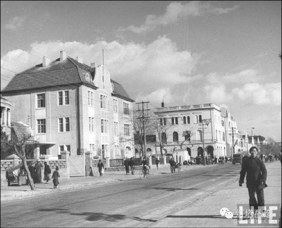 (组图) 收集整理1948青岛的老照片,进一步了解青岛这座城市的过去.