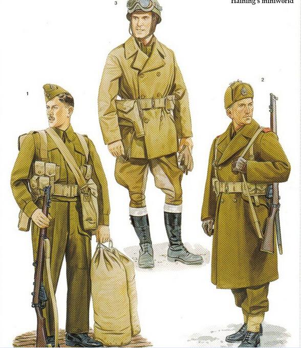 二战加拿大军服图册7688795-军事频道图片库