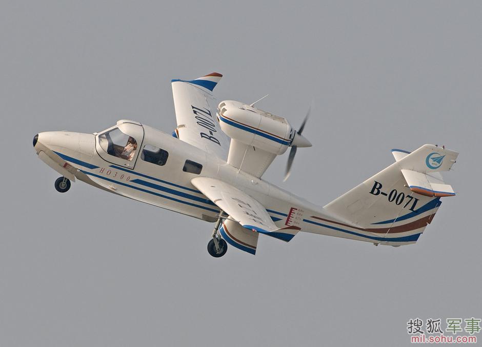 海鸥300水陆两栖飞机4424199-军事频道图片库-大视野