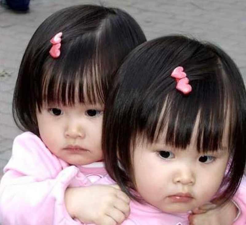 台湾双胞胎近照_台湾人气双胞胎曝近照 12岁姐妹花萝莉变美少女6537299-女人频道 ...