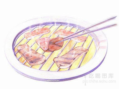 创意彩铅手绘美食:插画也能热气腾腾让人垂涎