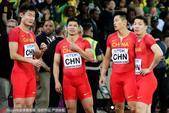 北京时间8月13日,伦敦田径世锦赛继续展开争夺,在男子接力决赛中,中国队被英国队干扰,获得第四名。