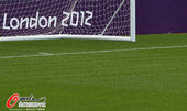 北京时间2012年7月25日,2012年伦敦奥运会前瞻:考文垂市体育场静候足球比赛。