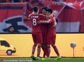 2017年4月21日,2017年中超联赛第6轮:上海上港vs河北华夏幸福。