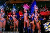 北京时间2016年8月2日,里约奥运会瑞士屋开门纳客,性感瑞士女郎热舞,并有多种美味食物。