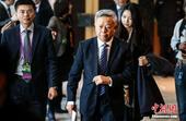 1月17日,当选亚投行(AIIB)首任行长的金立群在北京举行了上任后的首场记者会。中新社记者 张浩 ...