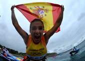 北京时间8月7日,2012年伦敦奥运会帆船帆板项目在韦茅斯-波特兰港进行到第十天,西班牙内尔、乌克兰...