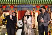 搜狐娱乐讯 (张宁/文 玄反影/图 李楠/视频)1月20日晚,动画电影《功夫熊猫3》在北京举办了见面...