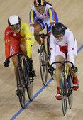 北京时间2012年8月3日,伦敦奥运会场地自行车女子凯林赛,郭爽晋级决赛。 更多奥运视频>> 更多...