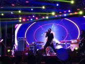 5月13日、14日晚上,歌伦贝尔房车音乐发现之旅第四季第三站来到江西共青城,天堂乐队、Mr.Bl...