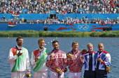 北京时间8月11日,2012年伦敦奥运会皮划艇静水项目在伊顿多尼水上中心进行到第六天,俄罗斯波斯蒂加...