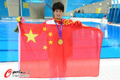 北京时间8月10日,陈若琳以超完美发挥成功卫冕,创造了10米台的历史。更多奥运视频>> 更多奥运图片...
