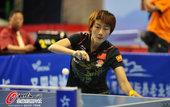 2012年7月9日,国乒奥运模拟测试赛成都上演,丁宁、刘诗雯上阵。