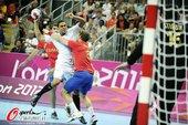 北京时间8月8日,2012年伦敦奥运会男子手球1/4决赛,法国23-22战胜西班牙。更多奥运视频>>...