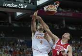 北京时间8月11日,伦敦奥运会男篮比赛展开了半决赛的较量,第一场半决赛中,俄罗斯再度遭遇西班牙,在一...