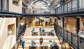 仓库除了用来囤货还可以干嘛?身为租屋平台先驱的Airbnb创意不落人后,首次参与办公室内设计,和建筑...