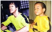 日本6岁男童肌肉惊人 偶像是李小龙