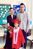 搜狐娱乐讯 6月7日,赵文卓夫妇在微博上晒出了爱子从幼儿园毕业的照片。照片中,赵子龙身穿红色的毕业服...