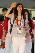 当地时间下午5点20,中国女排乘坐的CA937次航班降落在伦敦西斯罗机场。在距离奥运会开幕还有4天之...