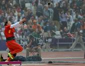 北京时间8月8日,伦敦奥运会田径项目进入到第六个比赛日的争夺。在刚刚进行的女子链球比赛中,中国名将张...
