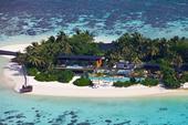 新加坡建筑工作室Guz的设计作品, 马尔代夫Coco贵宾酒店, 这属于一个私人岛屿, 上面建设了6个...