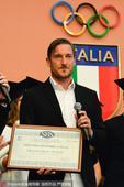 2017年5月27日,托蒂获颁意大利奥委会荣誉证书。