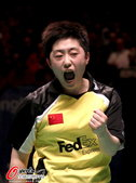 """北京时间2012年8月2日,""""这是我最后一次比赛了。再见国际羽联,再见我挚爱的羽毛球。""""于洋在自己的..."""