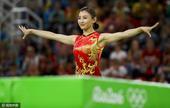 2016年8月12日,巴西,2016里约奥运会蹦床女子决赛,李丹第三,何雯娜第四。