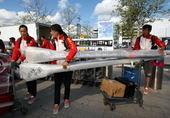 北京时间8月6日,中国赛艇队启程回国。(摄影/搜狐体育 黎晗)更多奥运视频>> 更多奥运图片>>