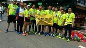 5月21日,长春马拉松进行,搜狐跑步助力辽宁抚顺跑团参加