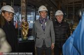 2015年1月13日,世界足球博物馆抓紧建设,皮耶罗、马塔现身参观。