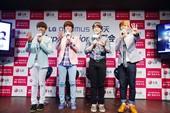 搜狐韩娱讯 日前,Super Junior粉丝见面会在首尔召开,22名中国粉丝与心中偶像进行了零距离...