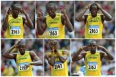 08年8月18日,田径 男子200米第1轮第5组比赛,尤塞恩・博尔特以20秒64的成绩位列小组第二。
