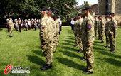 北京时间8月13日,伦敦奥运会安保军队欢送仪式举行。
