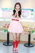 搜狐韩娱讯 6月6日下午,人气女子团体April在首尔市麻浦区上岩洞某咖啡厅内参与了台湾综艺节目《我...