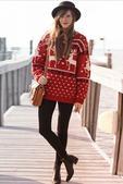在元旦圣诞最能体现节日气氛又能保暖的时髦单品,莫过于各种印花款式的圣诞毛衣了。雪花、驯鹿、圣诞树…把...
