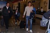2014年9月26日,北京,2014中国网球公开赛前瞻,纳达尔抵达开启中网之旅。