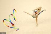 2016年4月22日,巴西里约,2016里约奥运会体操测试选拔赛第7日,中国选手刘佳慧领衔出战。