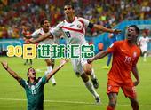 早上好,世界杯淘汰赛第一轮第3、4场战罢,荷兰2-1墨西哥,哥斯达黎加1-1希腊(点球大战哥斯达黎加...