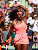 WTA皇冠赛迈阿密赛继续女单第3轮角逐,世界第一小威廉姆斯仅用时41分钟就以两个6-1的比分血洗15...